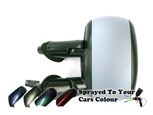Fiat Doblo Mk.1 2001-6/2010 Cable Wing Door Mirror Passenger Side N/S Painted Sprayed