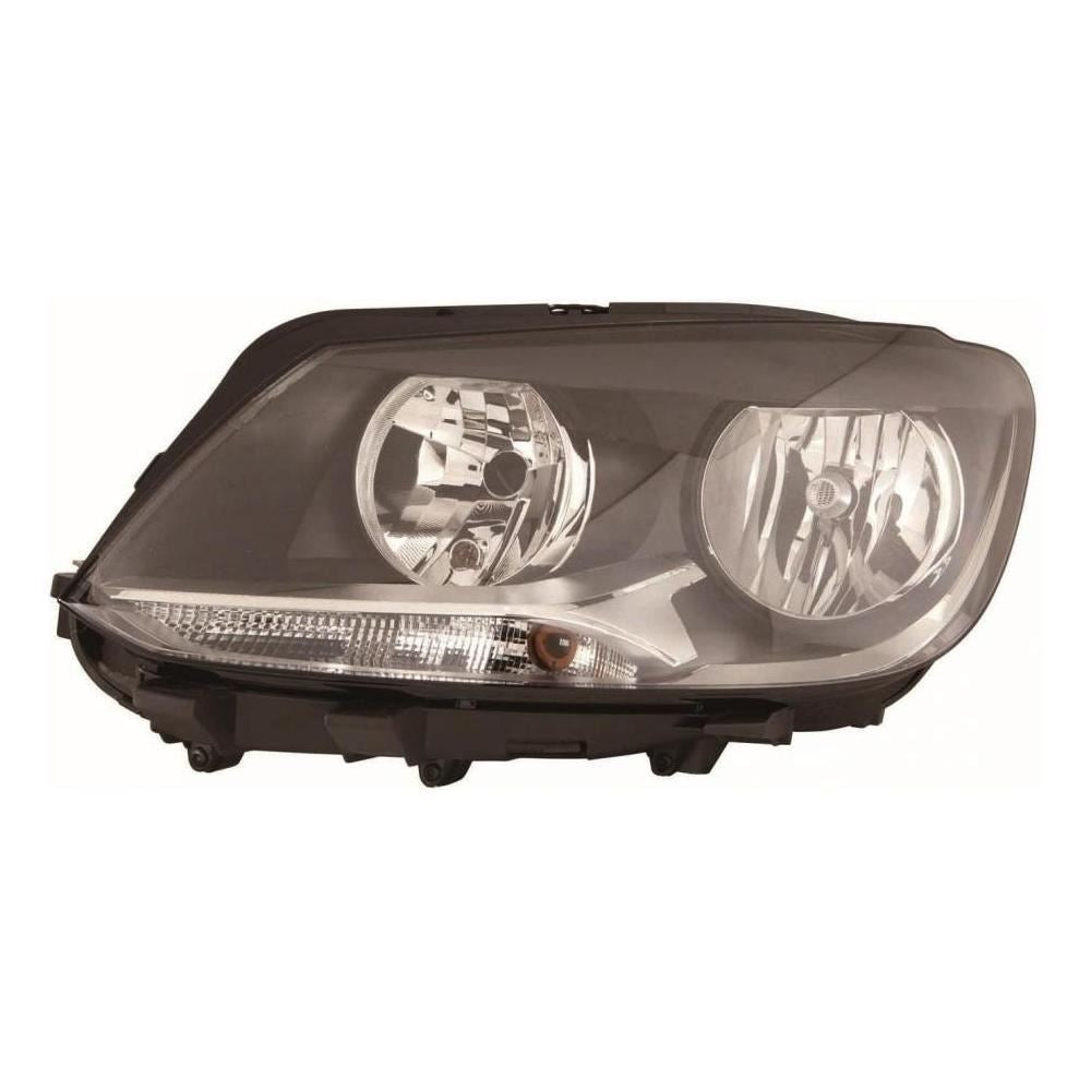 Volkswagen Touran Mk2 MPV 9/10-15 Twin Reflector Headlight Passenger Side N/S