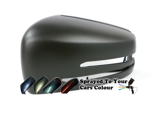 Mercedes Benz S Class (W221) 3/2010-6/2014 Wing Mirror Cover Passenger Side N/S Painted Sprayed