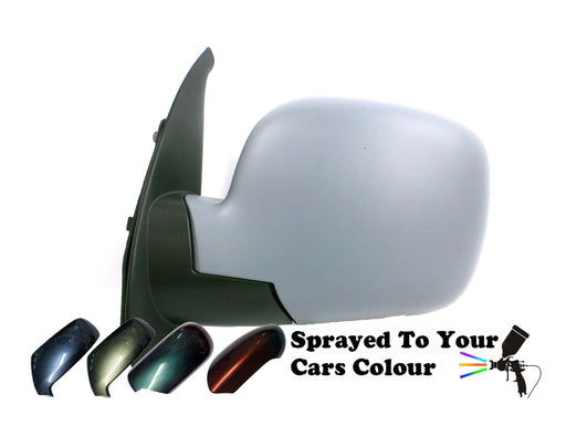 Renault Kangoo Mk2 9/2008-6/2013 Electric Wing Mirror Passenger Side N/S Painted Sprayed