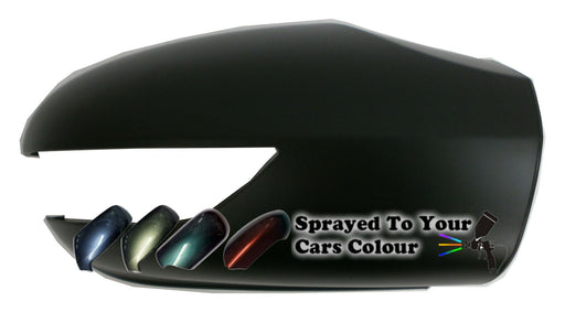 Mercedes Benz A Class (W169) 2/2005-9/2008 Wing Mirror Cover Drivers Side O/S Painted Sprayed