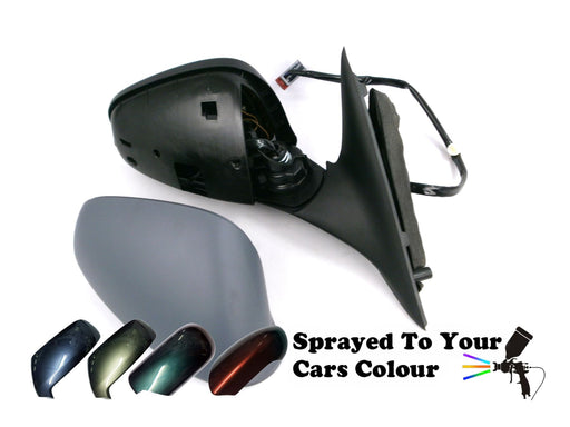 Alfa Romeo 159 2006-2012 Wing Mirror Heated Power Folding Drivers Side Painted Sprayed