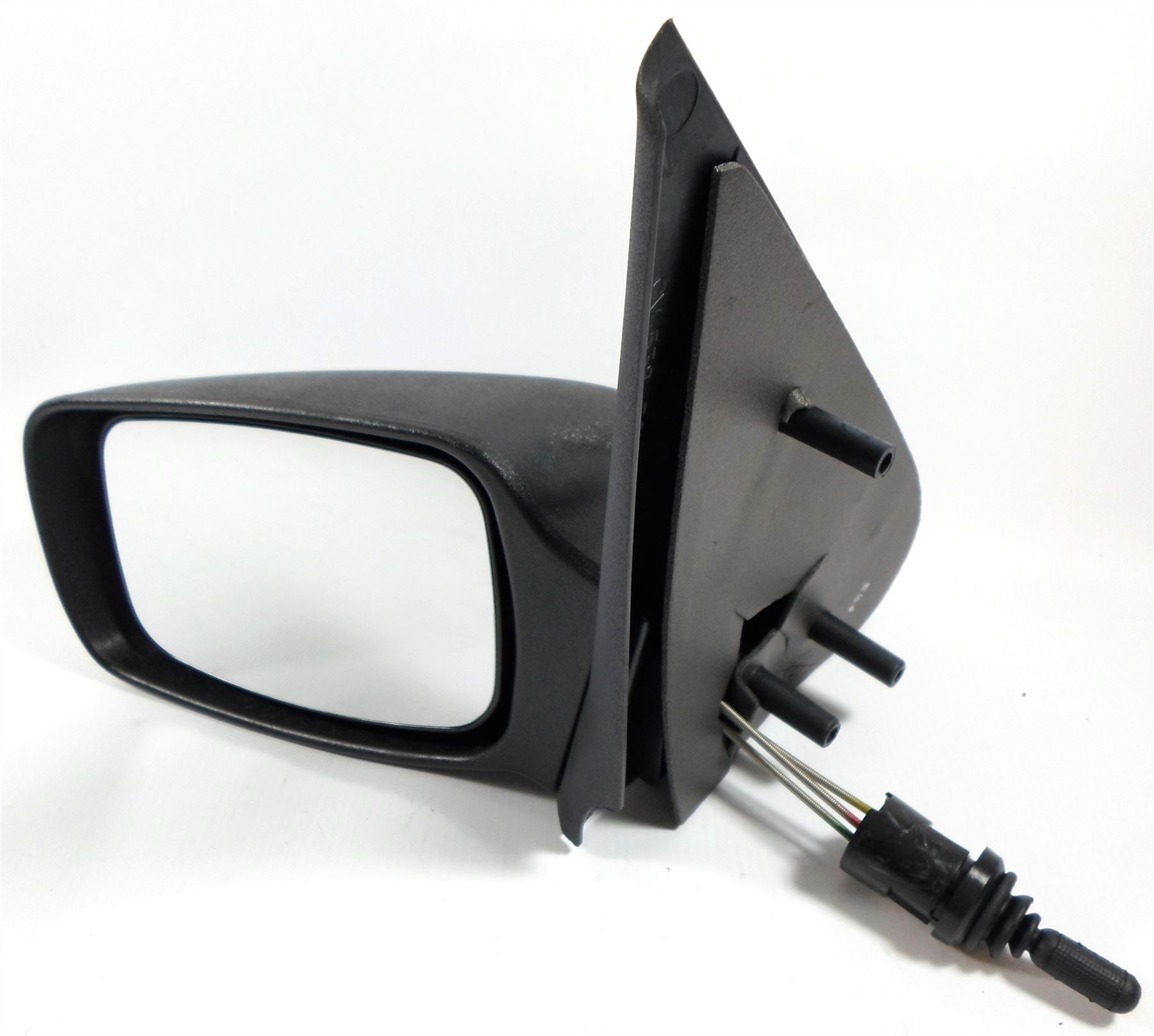 Ford Fiesta Mk.5 1999-2002 Cable Wing Mirror Black Textured Passenger Side N/S