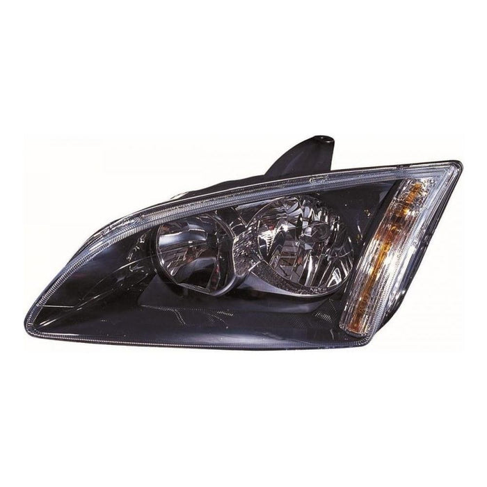 Ford Focus Mk2 Hatch 2005-5/2008 Black Inner Headlight Lamp Passenger Side N/S