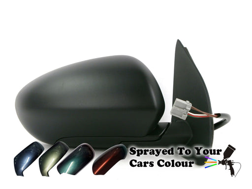 Nissan Qashqai Inc +2 2007-4/2010 Electric Wing Mirror Drivers Side O/S Painted Sprayed