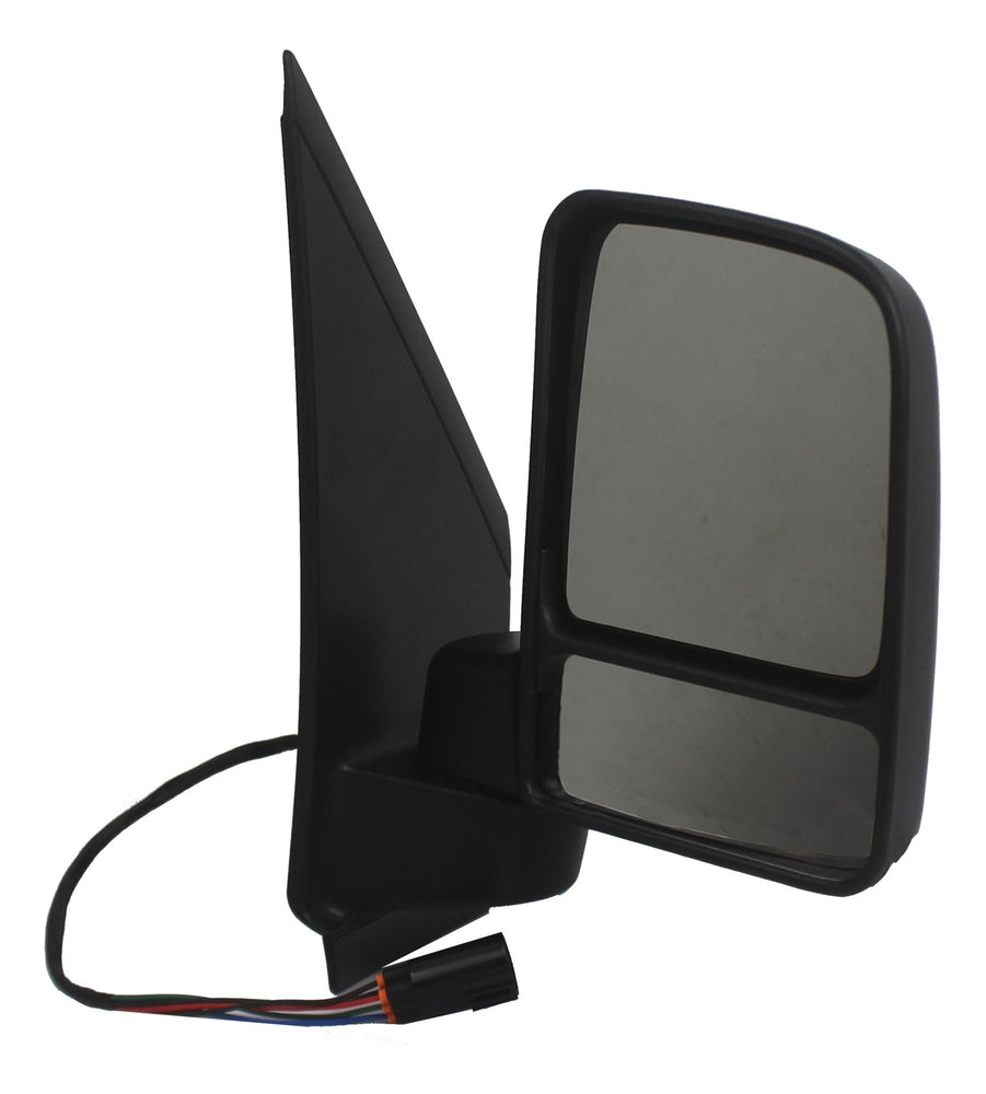 Ford Transit Connect 8/09-13 Twin Glass Wing Mirror Electric Black Drivers Side