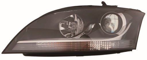 Audi TT Mk2 8J Coupe 9/06-12/11 Headlight With Chrome Trim Passenger Side N/S
