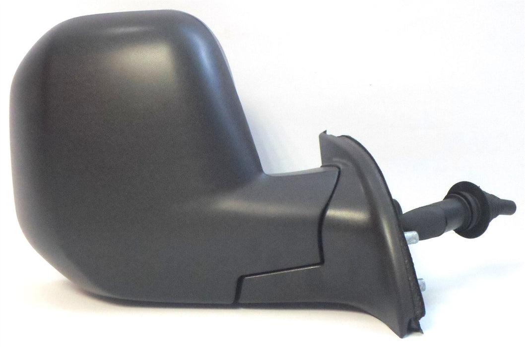 Citroen Berlingo Mk.2 7/2008-4/2012 Cable Wing Mirror Black Drivers Side O/S