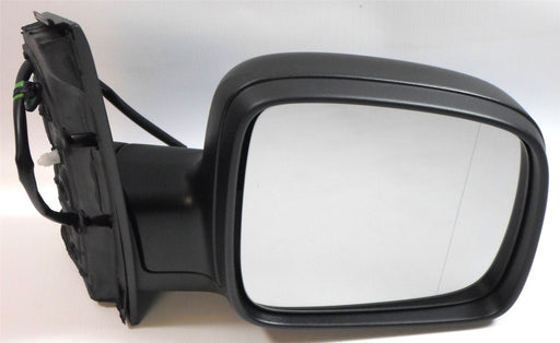 VW Caddy Mk3 3/2004-2010 Electric Wing Mirror Black Excl. Aerial Drivers Side