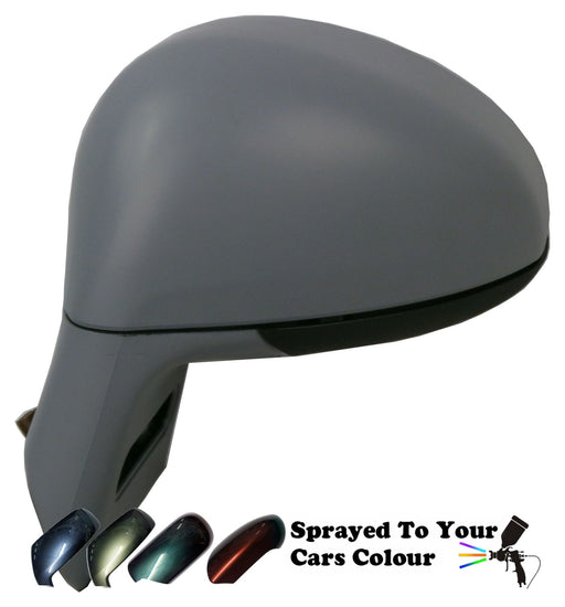 Citroen C4 2004-2010 Power Folding Wing Mirror Passenger Side Painted Sprayed