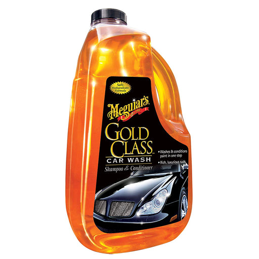 Meguiar's Gold Class Car Wash Shampoo & Conditioner 1.89L G7164EU