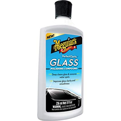 Meguiar's Perfect Clarity Glass Polishing Compound 236ml G8408EU