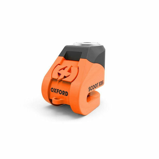 Universal Oxford Motorcycle Security Scoot XD5 Compact Disc Lock Orange LK261