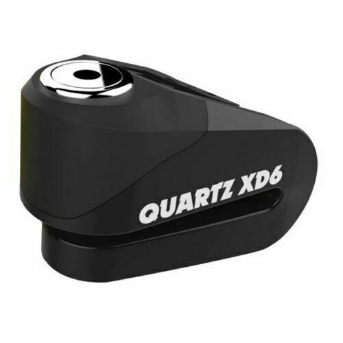 Universal Oxford Quartz XD6 Strong Alloy Motorcycle Scooter Disc Lock 6mm Pin Black LK266