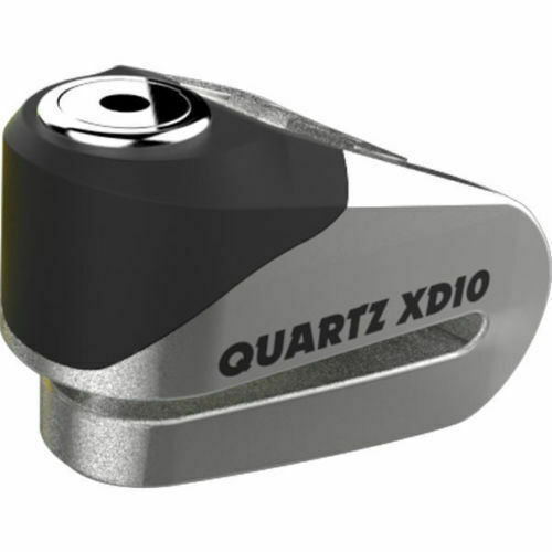 Universal Oxford Quartz XD10 Motorcycle Scooter Disc Lock 10mm Brushed Stainless LK268