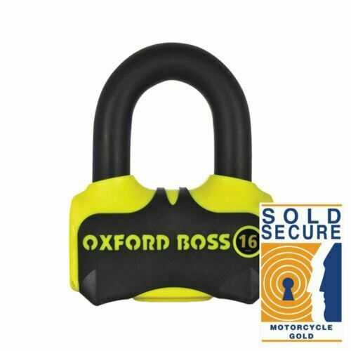 Universal Oxford Boss Ultra Strong Motorcycle Disc Lock Motorbike Padlock  LK316
