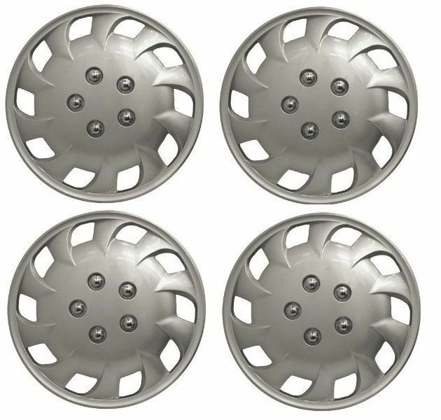 "Universal Mercury 14"" Inch Car Wheel Trims Hub Caps Plastic Covers Silver SWWT18"