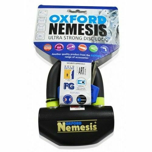 Universal Oxford Nemesis Ultra Strong Padlock Motorcycle Motorbike Disc Lock  OF47