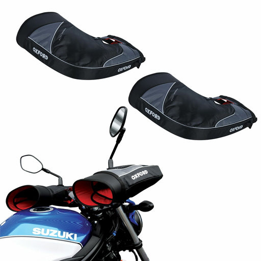 Universal Oxford OX395 Motorcycle Super Bar Muffs Thermal OX395
