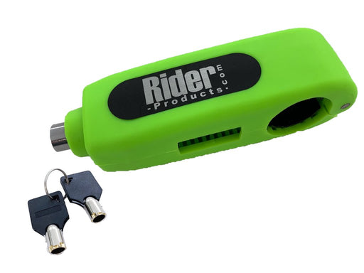 Universal Rider Products Motorcycle Motorbike Brake Lever Throttle Lock Green RP54