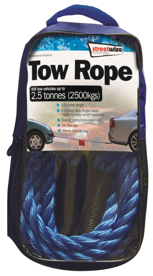Universal 2.5 Tonne Tow Rope 3.5 Metre SWTR25