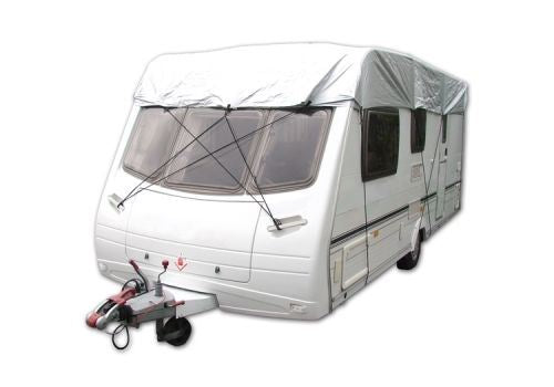 Universal Fit Small All Years Waterproof UV Caravan Top Cover Grey MP9261