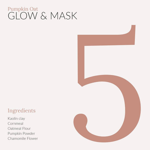 Mini Pumpkin Oat Glow & Mask