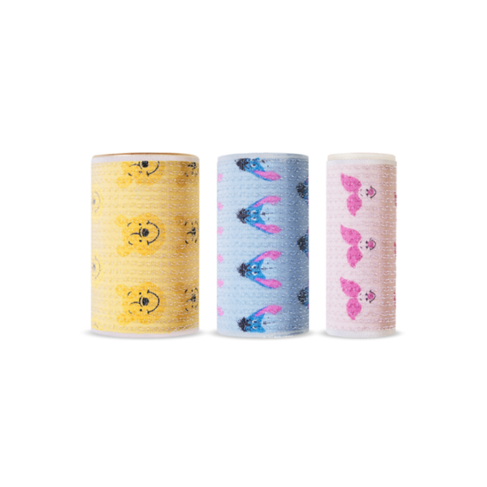 Happy With Piglet Hair Roll Set (3pcs)