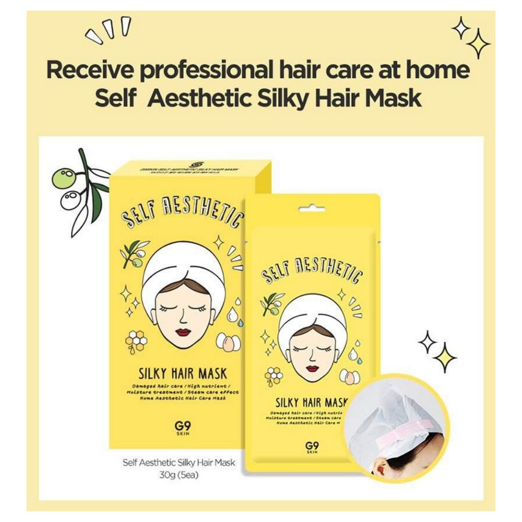 G9-Skin-Silky-Hair-Masks-(5-pack)
