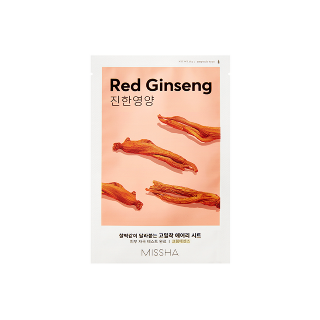 Missha-Airy-Fit-Sheet-Mask-Red-Ginseng