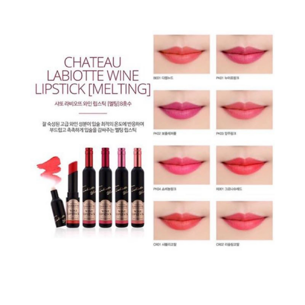Chateau Labiotte Wine Lip Stick (Melting)