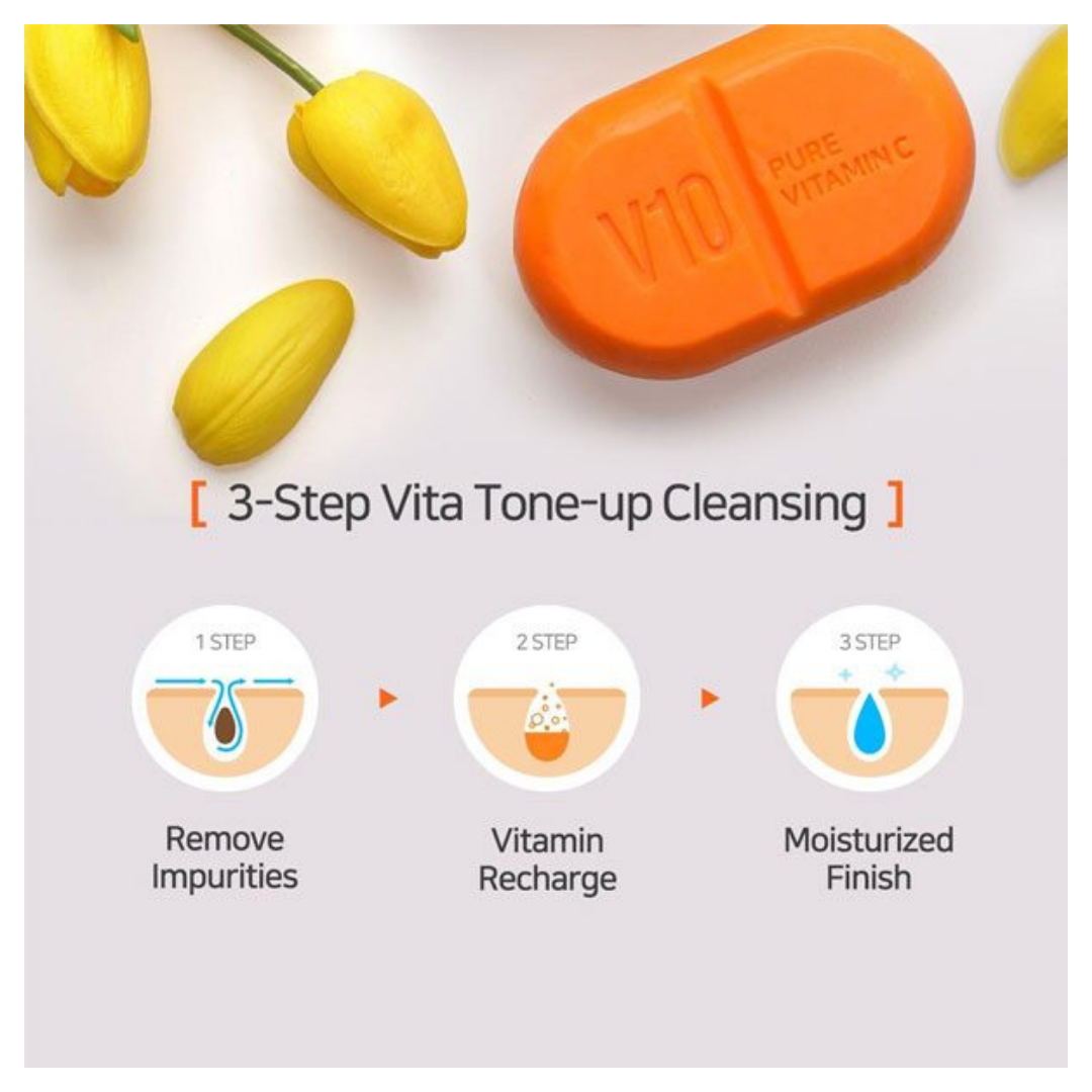 Pure-Vitamin-C-V10-Cleansing-Bar