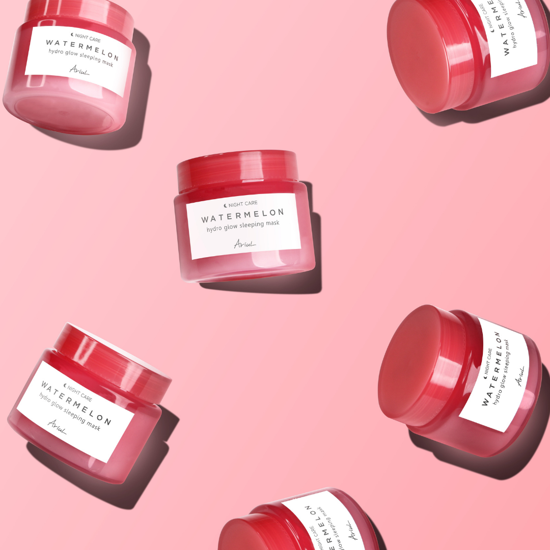 Ariul-Watermelon-Sleeping-Mask-Lifestyle