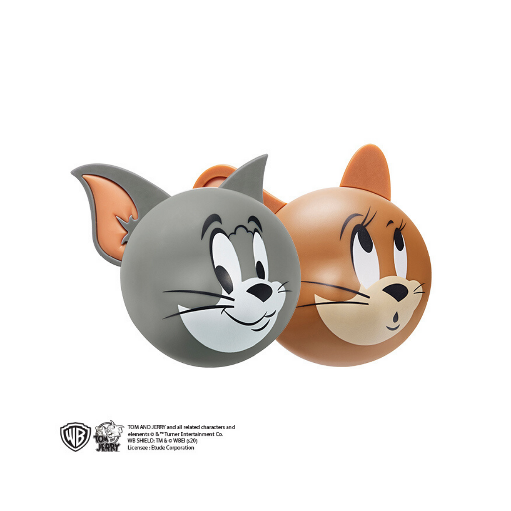 tom-and-jerry-Lucky-together-two-tone-cheek-dome