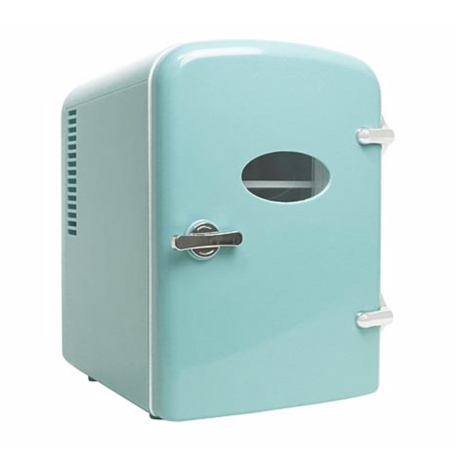 The Beauty Spy <br> Cosmetics Mini Fridge