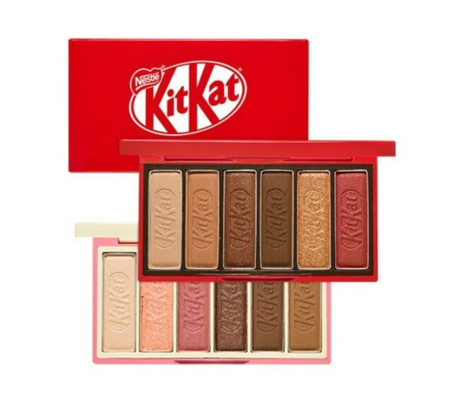 Etude House x KitKat Limited Edition Eyeshadow Palette + Makeup Pouch
