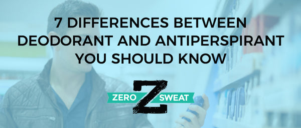 7 Differences Between Deodorant And Antiperspirant You Should Know