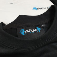 Load image into Gallery viewer, Armstrong Gym T-shirt with Small Printed Logo - Black