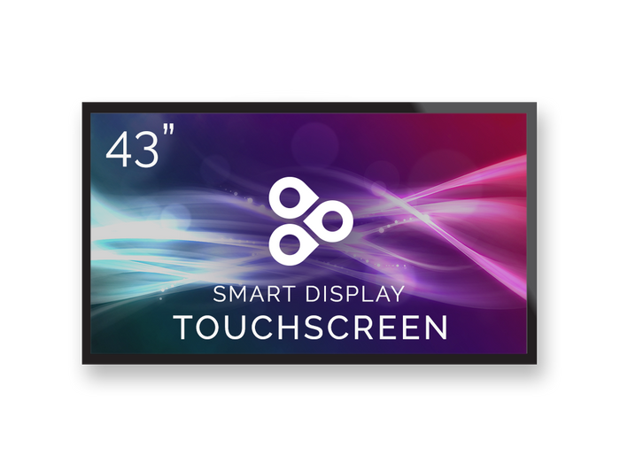 "43"" Touchscreen ViewSonic Commercial Display Powered by Enplug"