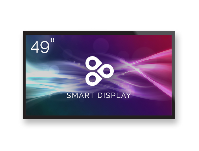 "49"" ViewSonic Commercial Display Powered by Enplug"