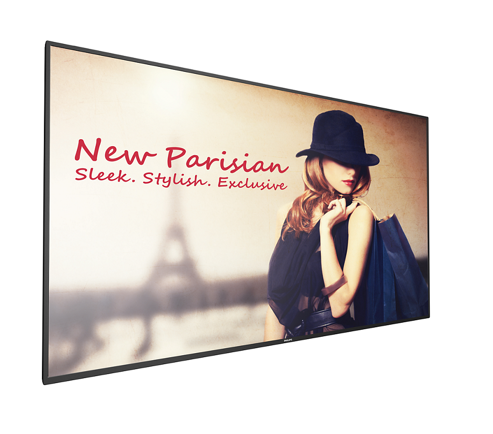 "65"" Philips Commercial Display Powered by Enplug"