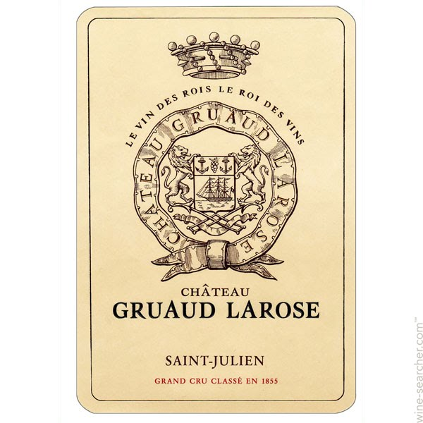 2001 Chateau Gruaud-Larose, Saint-Julien, Bordeaux (1,500 ml)