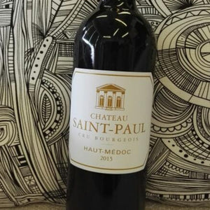 2015 Chateau Saint Paul, Haut Medoc, Bordeaux