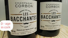 "Load image into Gallery viewer, (2 bottles) Art of Fermentation: 2009 ""Les Bacchantes"" Champagne Corbon"