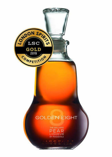Golden Eight Poire Williams Liqueur by GE Massanez (700ml) (free delivery)