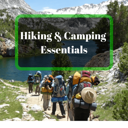 Hiking And Camping Essentials