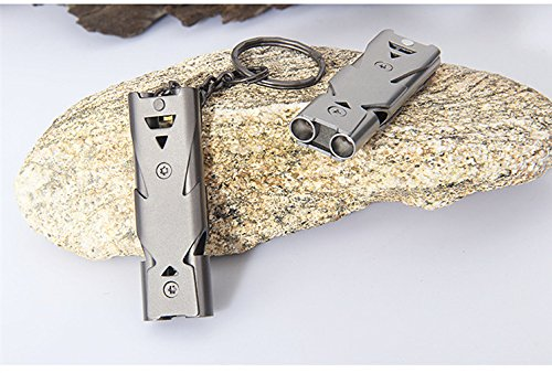 THE TITAN SURVIVAL WHISTLE (Up to 150 Decibels | Unbreakable)