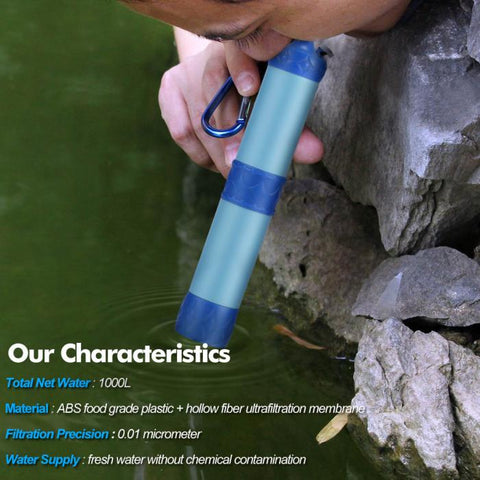Emergency Life Filtration Straw
