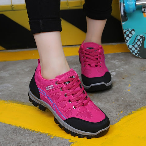 Ladies FTS Blaze Waterproof Breathable Hiking Shoes