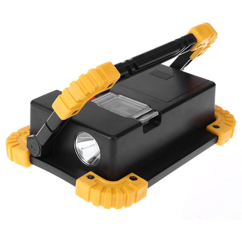 Image of Night Searcher - 20W 400LM LED Rechargeable Outdoor Spotlight